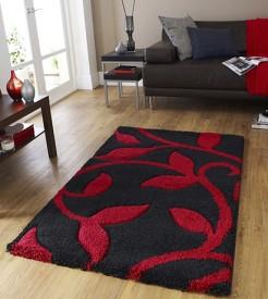 Presto Black Polyester Carpet