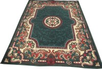 Zenliza Flooring Dark Green Acrylic Carpet 180 Cm  X 240 Cm