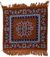 FG Brown Cotton Area Rug 51 Cm  X 51 Cm