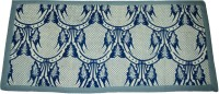 Amita Home Furnishing Blue Cotton Area Rug 61 Cm  X 81 Cm