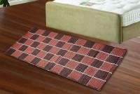 JBG Home Store Orange, Brown Cotton Floor Runner
