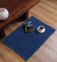 SWHF Dark Blue Cotton Area Rug 60 Cm  X 90 Cm