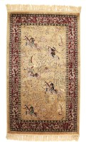 Miras Carpet Rugs Silk Throw Rug - CPGE5H7JEFEHVTDJ