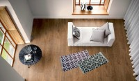 JJ DESIGN Multicolor Cotton Area Rug 70 Cm  X 140 Cm