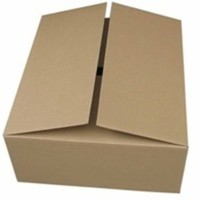 RTCPAC Corrugated Paper Packaging Box (Pack Of 50 Brown)
