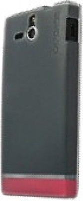 Capdase Back Cover for Sony Xperia U Black