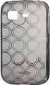 Molife Back Cover For Samsung Galaxy Pocket S5300 - Grey