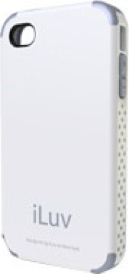 iLuv Back Cover for iPhone 4 Series White