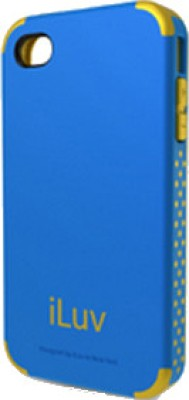 iLuv Back Cover for iPhone 4 / 4S Blue
