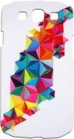 Casecasa Back Cover For Samsung Galaxy S3 I9300 (Multicolor)
