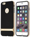 Rock Back Cover For APPLE IPHONE 5/5S (BLACK, GOLD)
