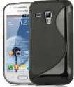 Premium Back Cover For Samsung Galaxy Star Pro S7262 - Black
