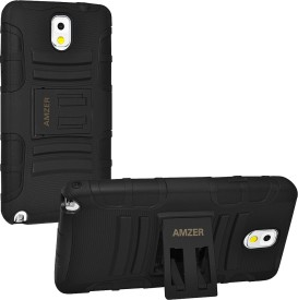 Amzer Back Cover For Samsung Galaxy Note 3 N9000 - Black