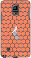 Dukancart Back Cover For Samsung Galaxy Note 4 (Multicolor) - ACCEHX9FUJ7YTPZK