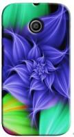 Saledart Back Cover For Motorola Moto E (Multicolor)