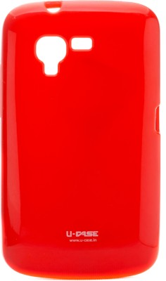 U CASE Back Cover for Micromax Bolt A34 Red available at Flipkart for Rs.333