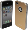 ERD Back Cover For IPhone 4S (Golden/Silver)