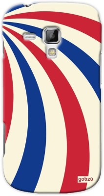 Gobzu Back Cover for Samsung Galaxy S Duos 2 (S7582)