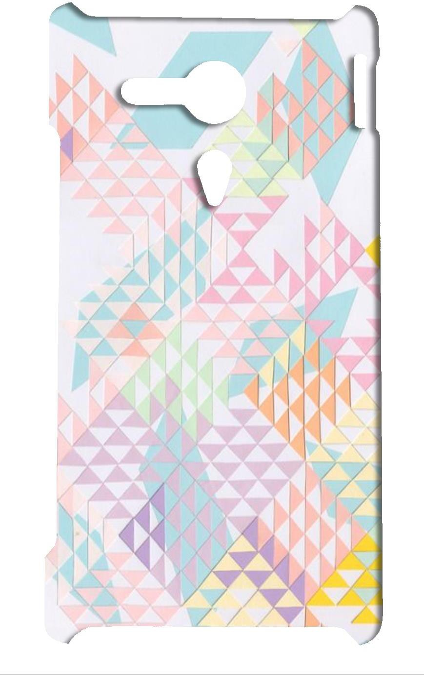 Mobile Cover Shop Back Cover for Sony Xperia SP