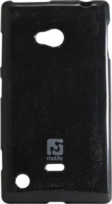 Molife Back Cover for Nokia Lumia 720 Black available at Flipkart for Rs.129