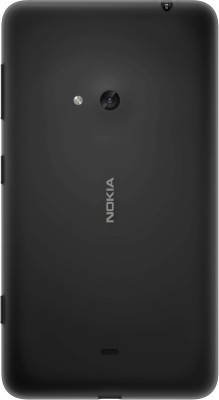 ShoppKing Back Replacement Cover for Nokia Lumia 625 Black at flipkart