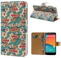 Slick Shell Book Case For LG Google Nexus 5 - Multicolor