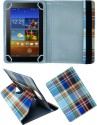 Fastway Book Cover For Bsnl Penta PS650 Tablet (WiFi+3G+4GB) (Blue:Orange:Dark Brown:Purple)