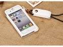 Callmate Case For IPhone 4/4S - White