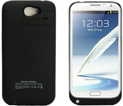 YourDeal Charging Case for Samsung Galaxy Note 2 N7100
