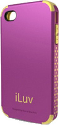iLuv Back Cover for iPhone 4 / 4S Purple