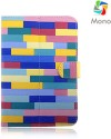 Mono Flip Cover for Videocon VT85C Tablet - Multicolor
