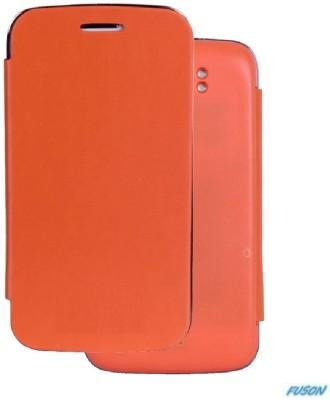 Fuson Flip Cover for Xolo Q900 Orange available at Flipkart for Rs.499