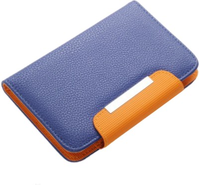 Jojo Flip Cover for Spice Spice Coolpad 2 Mi 496 Blue, Orange available at Flipkart for Rs.590