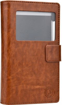 Jojo Flip Cover for Lenovo A390 Dark Brown available at Flipkart for Rs.690