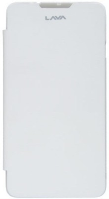 Case-M Flip Cover for Lava Iris 504Q White