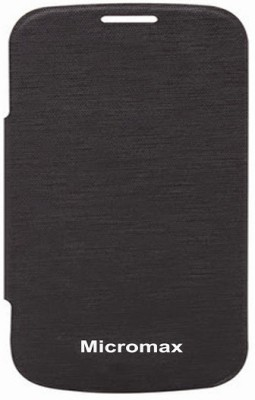 G4U Flip Cover for Micromax A26 A 26 FB Black available at Flipkart for Rs.247