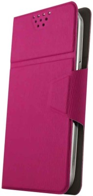 Molife Flip Cover for Spice Mobile Smart Flo Mettle 5X Pink available at Flipkart for Rs.499