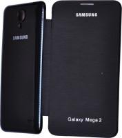 Air Accessories Flip Cover For Samsung Galaxy Mega 2 G7508 (Black)