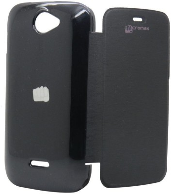 S  Softline Flip Cover for Micromax Bolt A47 available at Flipkart for Rs.155