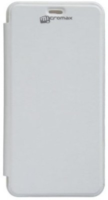 YGS Flip Cover for Micromax BOLT A67 White available at Flipkart for Rs.199