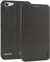 cheaper fe44a 18f5f Karpine Flip Cover for Lenovo Vibe K5 Plus (Black)