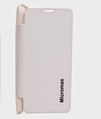 G4U Flip Cover for Micromax Bolt A47 White available at Flipkart for Rs.99