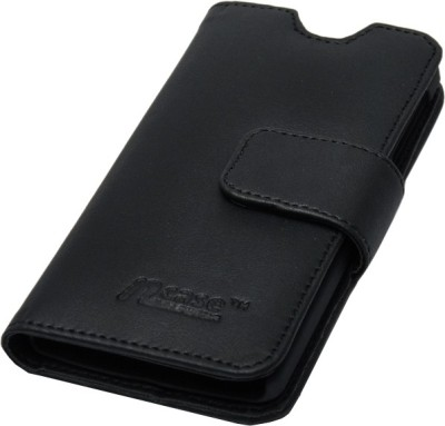nCase Flip Cover for Lenovo A390 Black available at Flipkart for Rs.385
