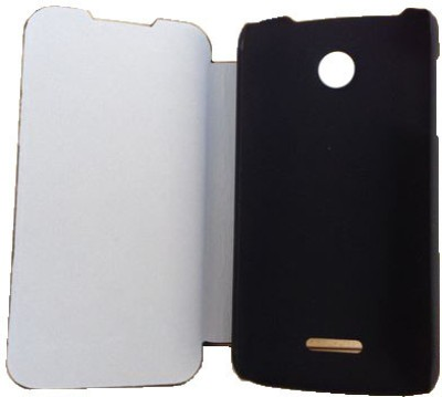 Newtronics Flip Cover for Lenovo A390 Black available at Flipkart for Rs.549