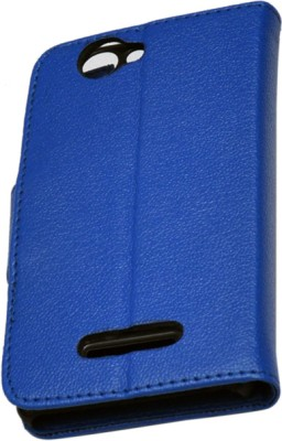 nCase Flip Cover for XOLO 500S Blue