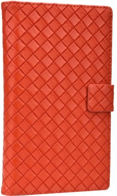 Jojo Flip Cover for Lenovo A390 Orange available at Flipkart for Rs.690