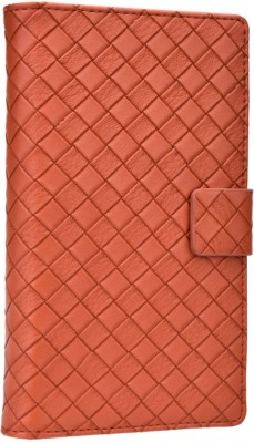 Jojo Flip Cover for iBall Andi 5h Quadro Brown available at Flipkart for Rs.690