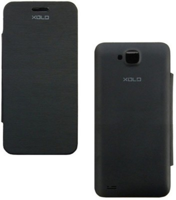 Ace HD Flip Cover for XOLO Q700 Black available at Flipkart for Rs.125