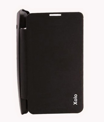 Ace HD Flip Cover for Xolo Q700 Black available at Flipkart for Rs.149