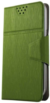 Molife Flip Cover for Spice Mobile Smart Flo Mettle 5X Green available at Flipkart for Rs.499